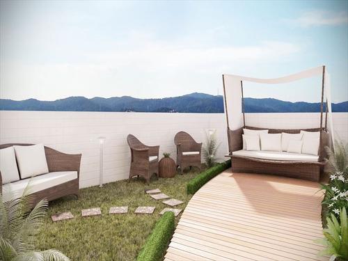 ref.: 1012412200 - apartamento em praia grande, no bairro guilhermina - 1 dormitórios
