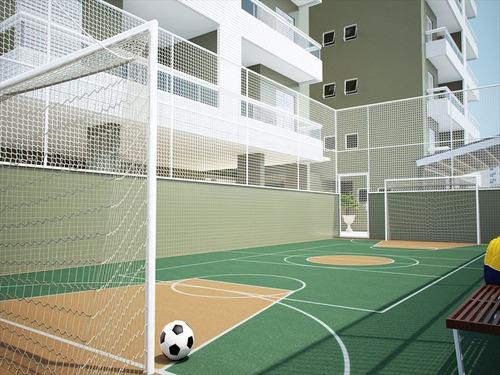 ref.: 1012412600 - apartamento em praia grande, no bairro forte - 2 dormitórios