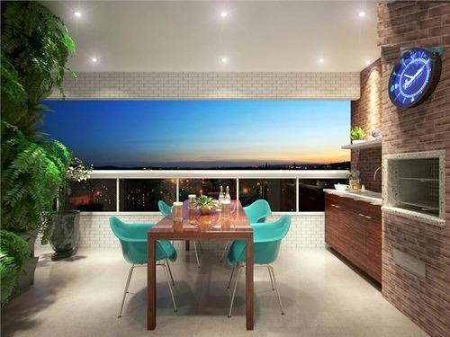 ref.: 1012413100 - apartamento em praia grande, no bairro forte - 2 dormitórios