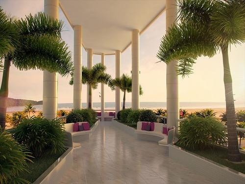 ref.: 1012413300 - apartamento em praia grande, no bairro forte - 3 dormitórios