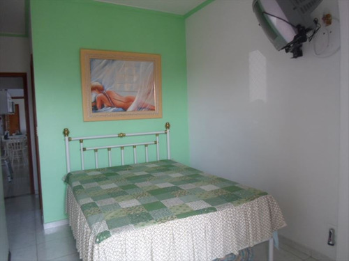 ref.: 101317400 - apartamento em praia grande, no bairro guilhermina - 1 dormitórios