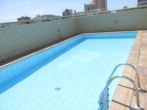 ref.: 101318800 - apartamento em praia grande, no bairro guilhermina - 1 dormitórios
