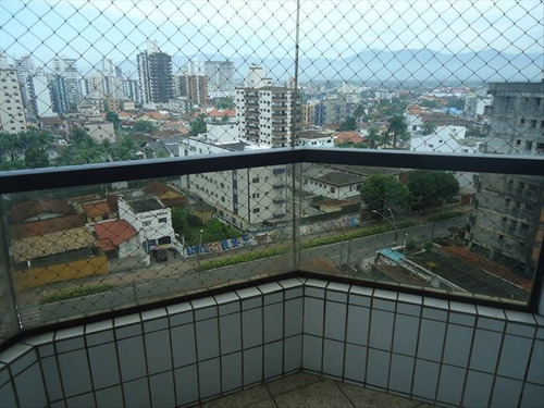 ref.: 101322901 - apartamento em praia grande, no bairro guilhermina - 1 dormitórios