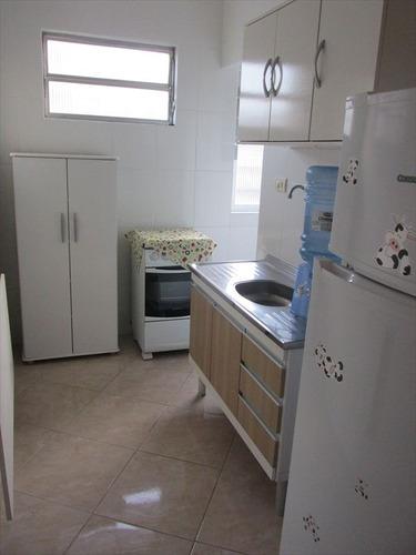 ref.: 101332401 - apartamento em praia grande, no bairro guilhermina - 1 dormitórios