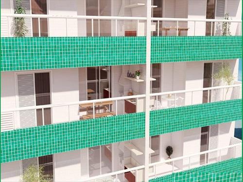 ref.: 101342900 - apartamento em praia grande, no bairro guilhermina - 1 dormitórios