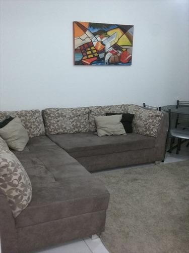 ref.: 101351100 - apartamento em praia grande, no bairro guilhermina - 1 dormitórios
