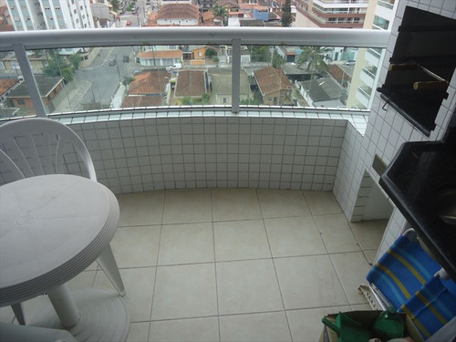 ref.: 101354401 - apartamento em praia grande, no bairro guilhermina - 1 dormitórios