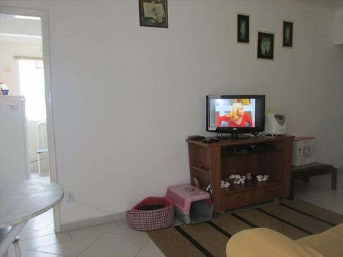 ref.: 101356100 - apartamento em praia grande, no bairro guilhermina - 1 dormitórios