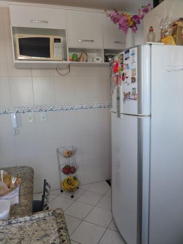 ref.: 101365301 - apartamento em praia grande, no bairro guilhermina - 1 dormitórios