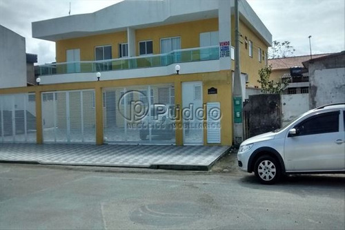 ref.: 1014 - casa em praia grande, no bairro tude bastos - 2 dormitórios