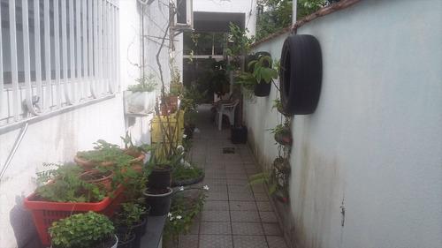 ref.: 1015500 - casa em santos, no bairro embare - 3 dormitórios