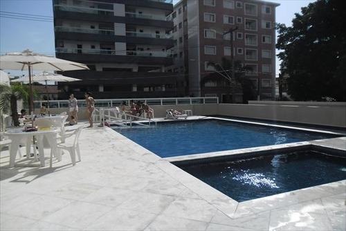 ref.: 1017 - apartamento em praia grande, no bairro forte - 2 dormitórios