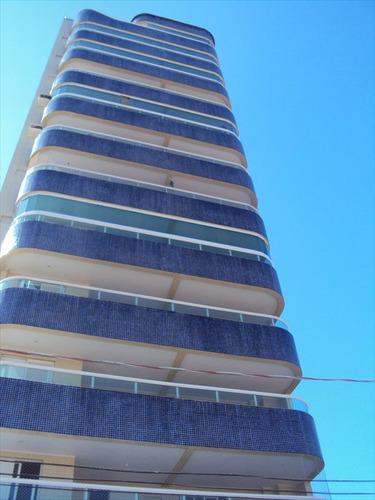 ref.: 1017 - apartamento em praia grande, no bairro guilhermina - 2 dormitórios