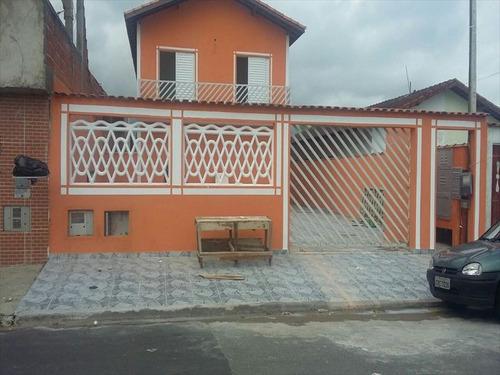 ref.: 102 - casa em mongagua, no bairro seabra - 2 dormitórios