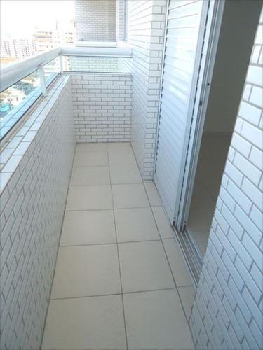 ref.: 102011401 - apartamento em praia grande, no bairro guilhermina - 2 dormitórios