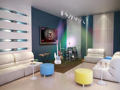 ref.: 102043000 - apartamento em praia grande, no bairro forte - 2 dormitórios