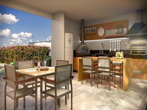 ref.: 1021010804 - apartamento em praia grande, no bairro boqueirao - 2 dormitórios