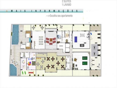 ref.: 1021011204 - apartamento em praia grande, no bairro forte - 2 dormitórios