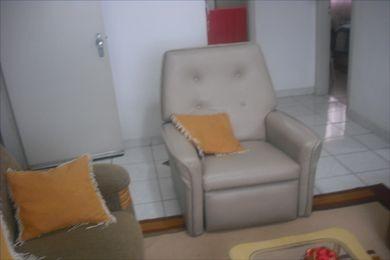 ref.: 102126800 - apartamento em praia grande, no bairro guilhermina - 2 dormitórios