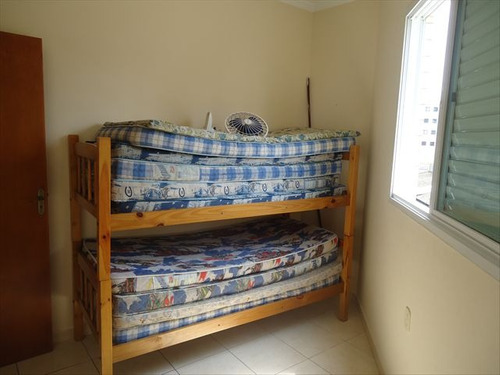 ref.: 102136800 - apartamento em praia grande, no bairro guilhermina - 2 dormitórios