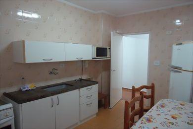 ref.: 102206700 - apartamento em praia grande, no bairro guilhermina - 2 dormitórios