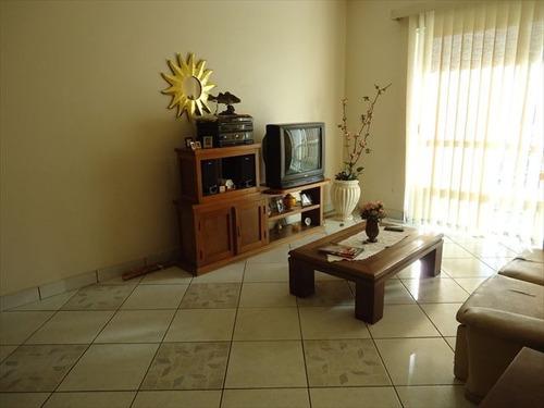 ref.: 102227100 - apartamento em praia grande, no bairro guilhermina - 2 dormitórios