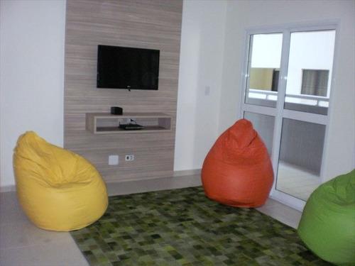ref.: 102231301 - apartamento em praia grande, no bairro tupi - 2 dormitórios