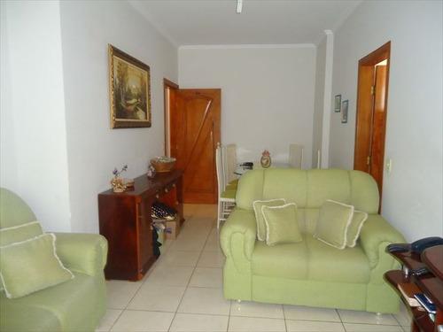 ref.: 102238200 - apartamento em praia grande, no bairro guilhermina - 2 dormitórios