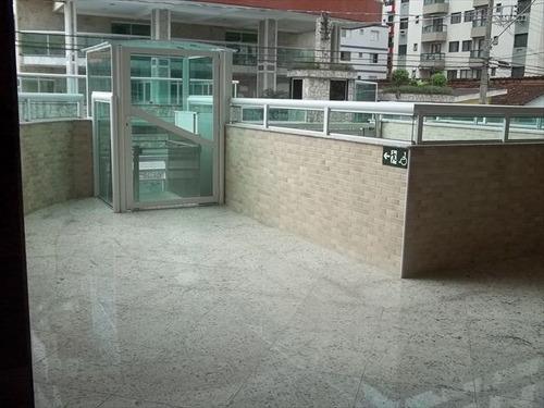 ref.: 102240704 - apartamento em praia grande, no bairro guilhermina - 2 dormitórios