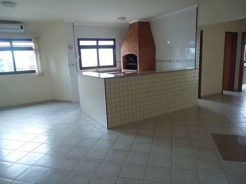 ref.: 102256100 - apartamento em praia grande, no bairro guilhermina - 2 dormitórios