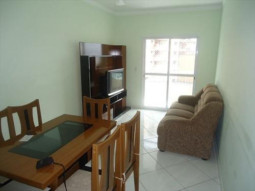ref.: 102260700 - apartamento em praia grande, no bairro guilhermina - 2 dormitórios