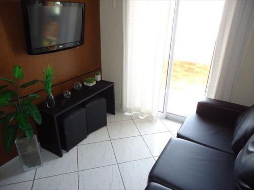 ref.: 102262200 - apartamento em praia grande, no bairro tupi - 2 dormitórios