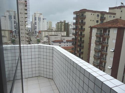 ref.: 102268401 - apartamento em praia grande, no bairro forte - 2 dormitórios