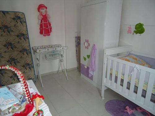 ref.: 102271700 - apartamento em praia grande, no bairro guilhermina - 2 dormitórios