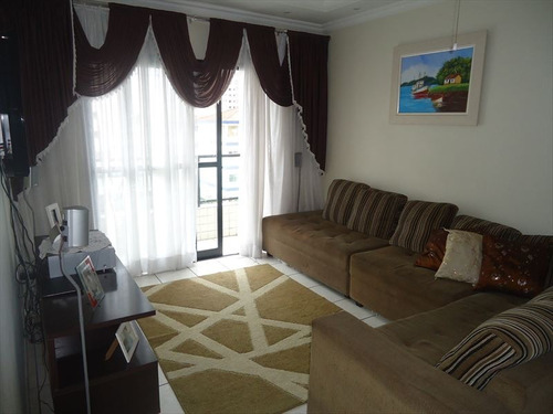 ref.: 102288900 - apartamento em praia grande, no bairro guilhermina - 2 dormitórios