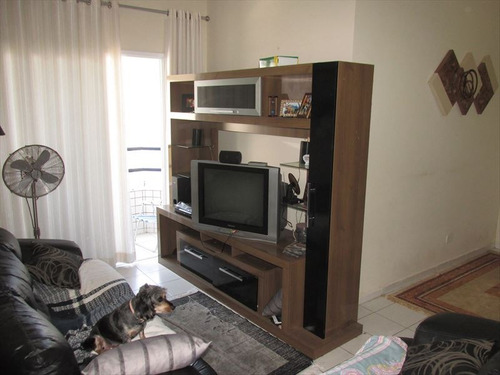 ref.: 102292504 - apartamento em praia grande, no bairro forte - 2 dormitórios