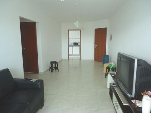 ref.: 102301701 - apartamento em praia grande, no bairro guilhermina - 2 dormitórios