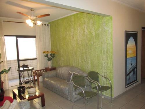 ref.: 102304400 - apartamento em praia grande, no bairro guilhermina - 2 dormitórios