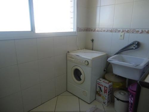 ref.: 102307401 - apartamento em praia grande, no bairro guilhermina - 2 dormitórios