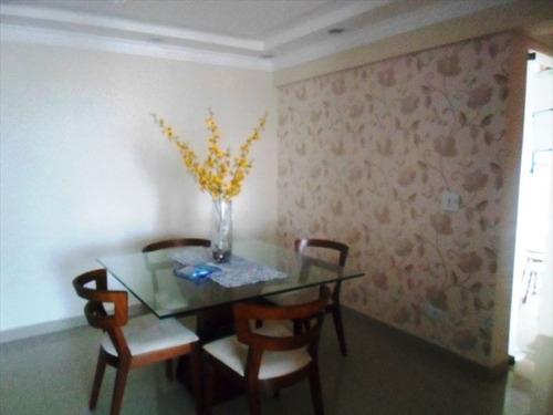 ref.: 102308500 - apartamento em praia grande, no bairro guilhermina - 2 dormitórios