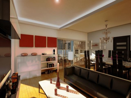 ref.: 102325101 - apartamento em praia grande, no bairro boqueirao - 2 dormitórios