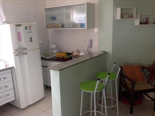ref.: 102327700 - apartamento em praia grande, no bairro guilhermina - 2 dormitórios
