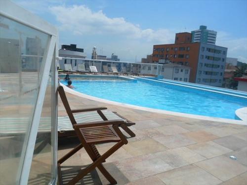 ref.: 102328700 - apartamento em praia grande, no bairro boqueirao - 2 dormitórios