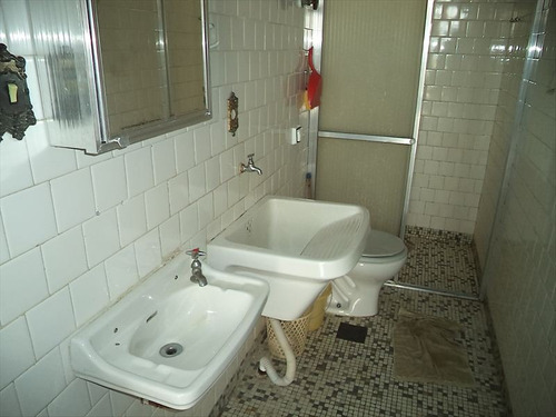 ref.: 102329204 - apartamento em praia grande, no bairro boqueirao - 2 dormitórios