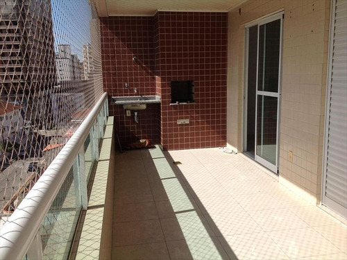 ref.: 102334900 - apartamento em praia grande, no bairro guilhermina - 2 dormitórios