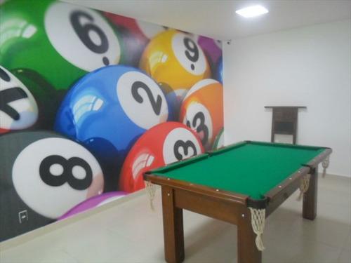 ref.: 102336300 - apartamento em praia grande, no bairro guilhermina - 2 dormitórios