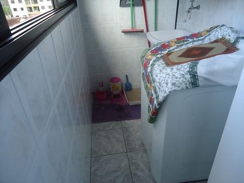 ref.: 102342204 - apartamento em praia grande, no bairro guilhermina - 2 dormitórios