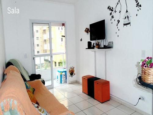 ref.: 102345701 - apartamento em praia grande, no bairro forte - 2 dormitórios