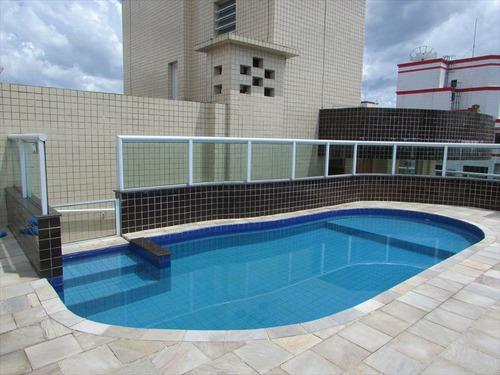 ref.: 102353204 - apartamento em praia grande, no bairro guilhermina - 2 dormitórios