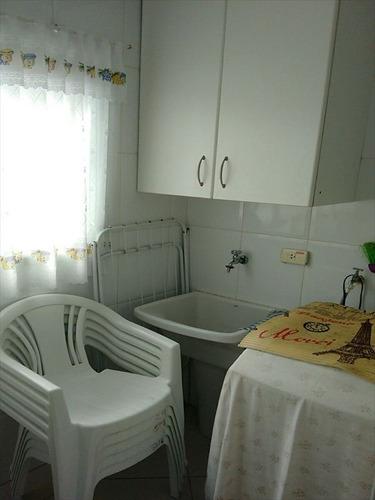 ref.: 102353704 - apartamento em praia grande, no bairro guilhermina - 2 dormitórios
